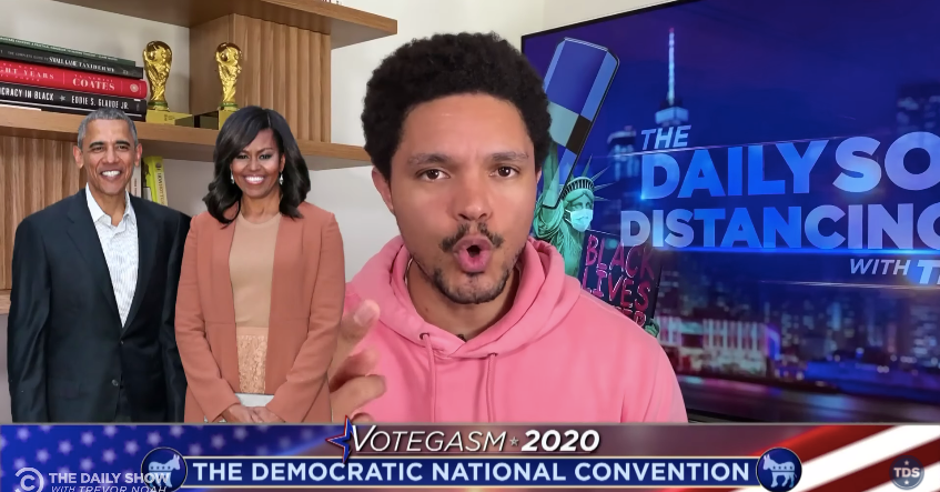 Trevor Noah Praises Michelle Obama's 'Ice-Cold' Trump Takedown