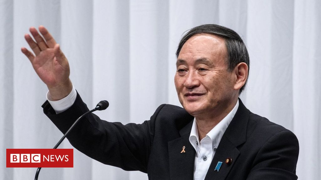 Japans governing party chooses Shinzo Abes successor
