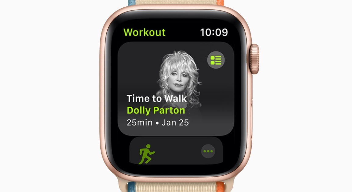 The Morning After: Apples new fitness feature is a guided walk with Dolly Parton