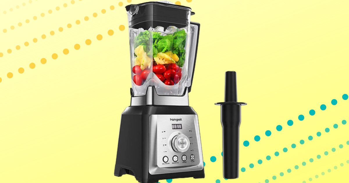 Make smoothies and sauces this spring with a new blender on sale