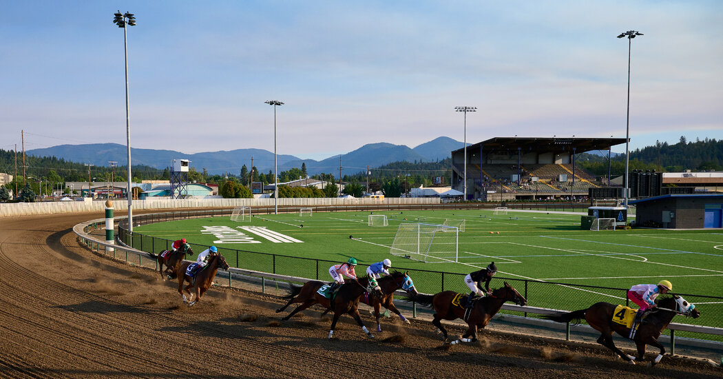 No Need for Speed at Grants Pass Downs in Oregon
