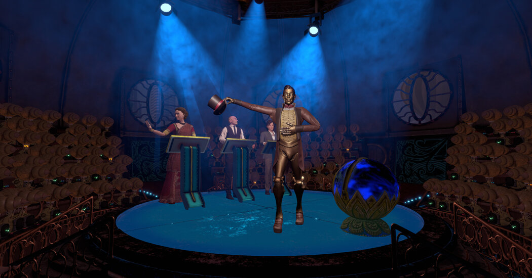 Review: 'Miranda' Poses a Musical Mystery in Virtual Reality