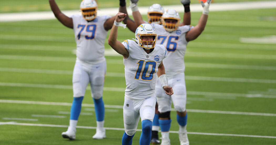 Justin Herbert and the Chargers Veer Happily Off Course