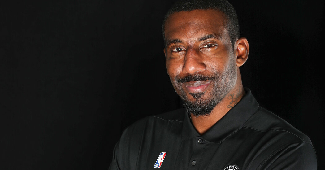 Amar'e Stoudemire Is a Coach Now. But Don't Call Him That.