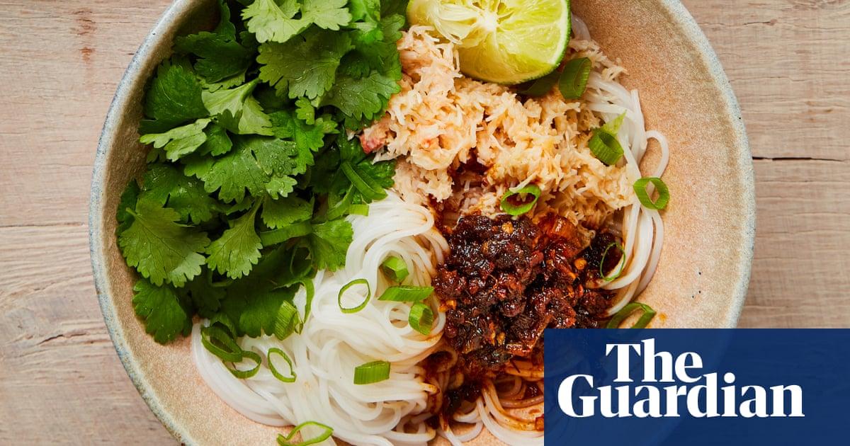 Crab rice noodles, baked polenta and spiced lentil pancakes: Yotam Ottolenghi's gluten-free mains – recipes